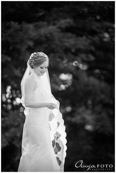 AnyaFoto | NJ Wedding Photographer | Bridal veil