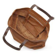 The Kinsale Leather Co. Baby Alabama Tote Tan