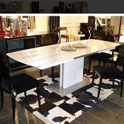 Armani 265 Crocodile Modern Dining Table by VIG Furniture Purchasing furniture in the San Francisco area can be of significant investment and it is advised to research for the best stores providing the cheapest deals. While it is quite impossible to hop from one store to another and get the quote for the furniture, the online option is always an easier way to get your job done.