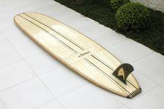 Siebert Woodcraft Surfboards / Hollow Wooden Surfboards: Special Fin