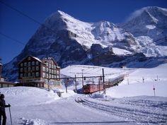 Hotel Belleveu, Kleine Scheidegg, Eiger Nordwand Grindelwald, Historical place