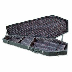 Coffin Case X-175 Universal Electric Guitar Case Black by Coffin Case. $113.49. X-175 Features: -Wood case with black vinyl exterior.-Padded black satin diamond tuck interior with red stitching.-Black hardware.-Accessory compartment and built-in neck rest.-Shock-resistant velvet pillow.-Locking latches.-Fit BC Rich Warlock and Mockingbird guitars and most Ibanez and Schechter 7-string guitars. Dimensions: -Dimensions: 46.75 - 48.25'' H x 14.5 - 17.75'' W x 3 - 5'' D. Warranty: ...