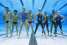 The 2008 USA Swim Team. Swimming Photos, Usa Swimming, Underwater Swimming, I Love Swimming, Olympic Swimming, Swimming Diving, Underwater Photos, Natalie Coughlin, Usa Swim Team
