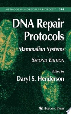 DNA Repair Protocols PDF By:Daryl S. Henderson Published on 2006 by Springer Science & Business Media In this second edition of a much prais. Dna Synthesis, Molecular Genetics, Dna Repair, Gene Therapy, Biotechnology, New Chapter, Authors, Amanda, Medicine