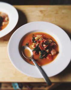 Garlic & Fennel Minestrone Cleansing Soup