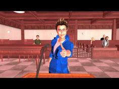Too fuuny court room drama