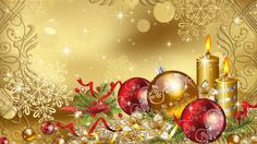 Gold Christmas Background | Free Gold Christmas Backgrounds ...