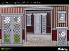 Sir Cunningham Window Add-on by mutske  http://www.thesimsresource.com/downloads/929194
