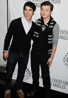 DARREN CRISSSSSSSSSSSSS - I also have a crush on Chris Colfer even though he's gay, he's just too darn cute!!!  I want to squeeze him.