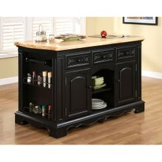 Pennfield Kitchen Island with Granite cutting inserts