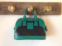 Upcycled leather & layflat Satchel by landfilldzine. Explore more products on http://landfilldzine.etsy.com