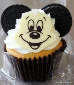 oreo mickey cupcake out of box Landscape of Flavors
