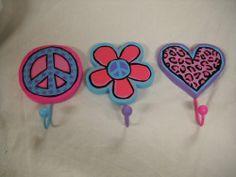 Set of Three Wall Hooks Leopard Heart Flower Peace Signs Girls Bedroom Decor tri coast designs,http://www.amazon.com/dp/B00FV4J0P6/ref=cm_sw_r_pi_dp_B--Msb0HB809T2NQ