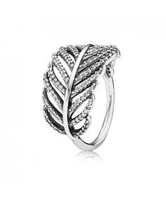 Pandora Feather Ring Sale