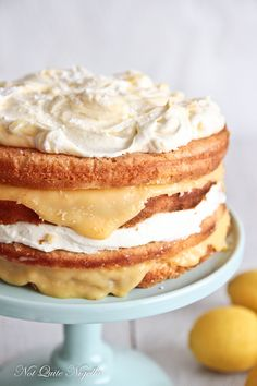 Lemonade Cake - Use: CLEAR LEMON FILLING Mix sugar, cornstarch, . Stir in butter and rind. Use for Lemon Cake recipe. Lemon Recipes, Sweet Recipes, Baking Recipes, Cake Recipes, Dessert Recipes, Just Desserts, Delicious Desserts, Yummy Food, Healthy Food