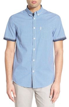 Ben Sherman 'Tipped' Short Sleeve Woven Shirt