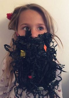 Do you want to create Mr Twit's beard to celebrate Roald Dahl Day? Here's how the lovely Evie created her own Mr Twit beard!