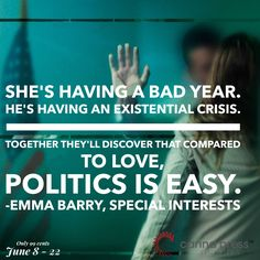 Special Interests is on sale for just 99 cents from June 8 - Existential Crisis, 99 Cents, Special Interest, June 8, First Novel, Novels, Politics, Romance, Easy
