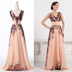Tropical Print Mother Of The Bride Dresses 23