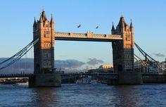 Coucher de soleil sur London Bridge de Face-de-lutin