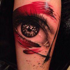 trash polka tattoo ideas - Hledat Googlem