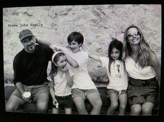 Steve Jobs, Laurene Powell,  Reed Paul, Erin Siena, and Eve