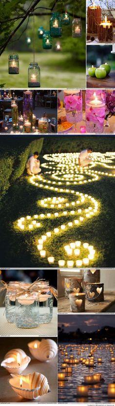 Candles : Fabulous decorative Ideas