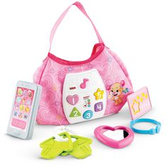 fisher price laugh learn sis smart stages purse walmartcom