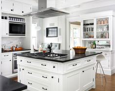 Jung Residence Kitchen Renovation, designed by Roger Wade DeWeese.  peachtreearchitects.com