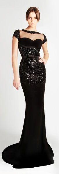 10+Most+Beautiful+Long+Black+Dresses+From+RAMI+KADI