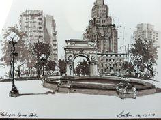 Washington Square Park by bboyfenix17 on DeviantArt