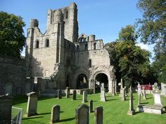 Kelso Abbey, Scottish Borders