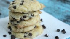 easy chocolate chip cookies with only 4 ingredients