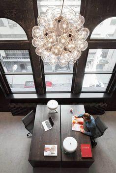 NYC Firehouse Transformed into a HQ by Rafael de Cardenas.