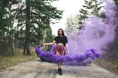 Earlier this summer, I had the idea of doing a shoot with smoke bombs! And,  although the concept has been a bit overdone, it became something that I  really wanted to try.  So a few weeks ago I contacted a videographer friend of mine, Cole  Stoughton, and the planning began! We found our amazi Smoke, Vape, Smoking, Acting