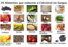 20 alimentos que reduzem o colesterol
