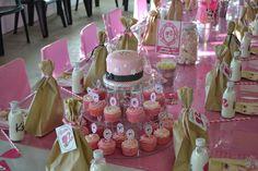 Barbie Cake & Decor