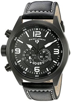 Swiss Legend Men's 10020-BB-01 Highlander Black Ion-Plated Stainless Steel Watch with Black Leather Band Swiss Legend http://www.amazon.com/dp/B00UPTGH26/ref=cm_sw_r_pi_dp_sO8iwb0471FFT