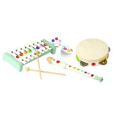 Janod 07600 Confetti Musical Instrument Play Set with Coloring Book Piano, Thing 1, Musical Instruments, Confetti, Smurfs, Coloring Books, Activities For Kids, Musicals, Games
