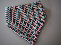 Bavoir bandana coton imprimé motifs : Mode Bébé par ma-choupinette