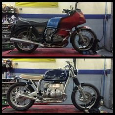 I fully love just what these guys did to this customized Street Motorcycles, Triumph Motorcycles, Vintage Motorcycles, Custom Motorcycles, Bmw Boxer, Motos Bmw, Honda Scrambler, Scrambler Motorcycle, Moto Cafe