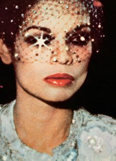 Bianca Jagger knows how to sparkle...