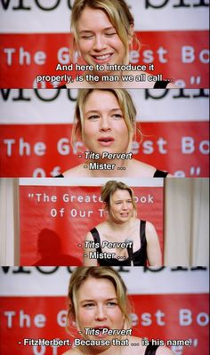 And now to introduce.. ~ Bridget Jones's Diary (2001) ~ Movie Quotes