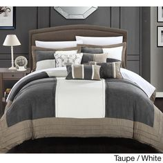 Chic Home Luciano Soft Microsuede 7-piece Comforter Set