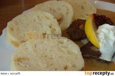 Jemné domácí houskové knedlíky Czech Recipes, Russian Recipes, Ethnic Recipes, Good Food, Yummy Food, Yummy Recipes, Dumplings, Mashed Potatoes, Main Dishes