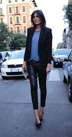 Emmanuelle Alt's style, the editor in cheif of Vogue Paris
