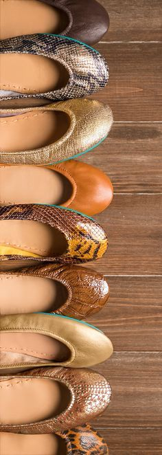 Soft, full-grain Italian leather Tieks add a touch of elegance to any ensemble! | Tieks Ballet Flats