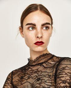 LEATHER EFFECT MINI DRESS-DRESSES-WOMAN | ZARA United States