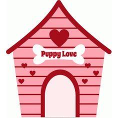 Silhouette Design Store: valentine dog house