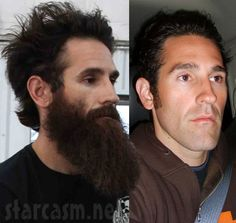 Aaron Kaufman Wife | Gas Monkey Garage Aaron Kaufman with and without a beard side-by-side ...